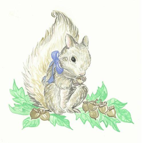 Blue Ribbon Squirrel