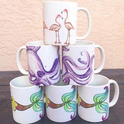 Coastal Mugs 1
