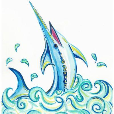 jumping-marlin