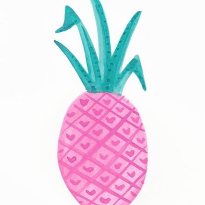 pink-pineapple