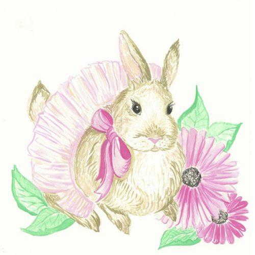Pink Tutu Bunny
