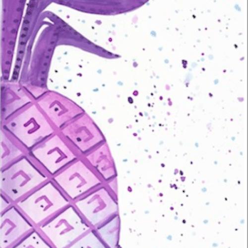 purple-half-pineapple