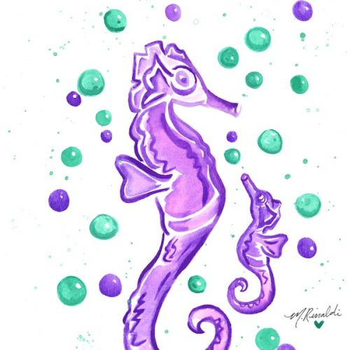 purple-mommy-and-me-seahorses