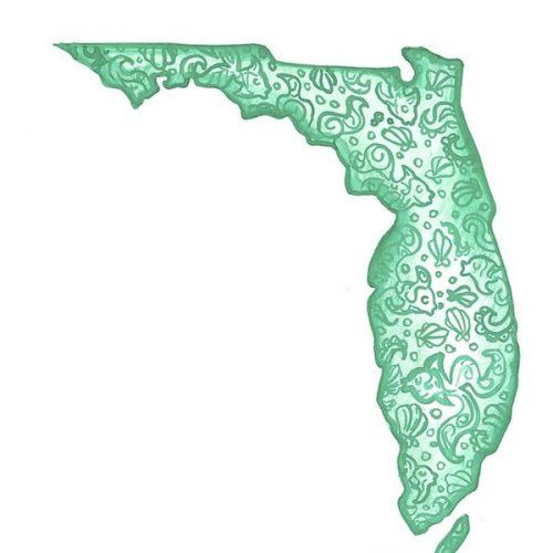Teal Florida