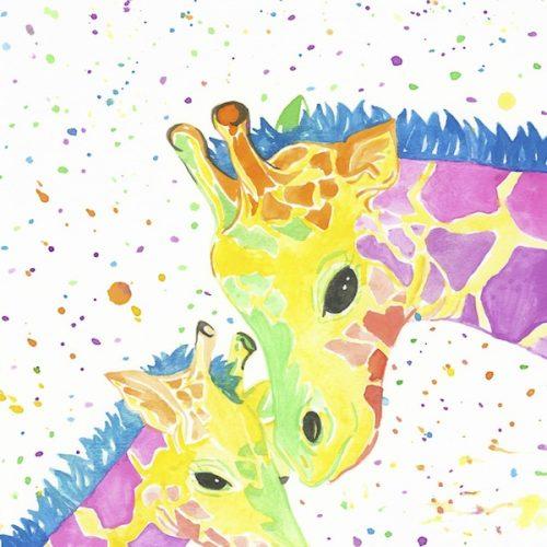 rainbow-giraffes